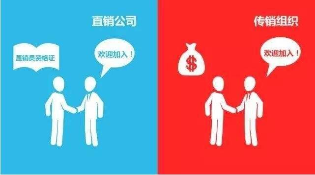 直销与传销的区别