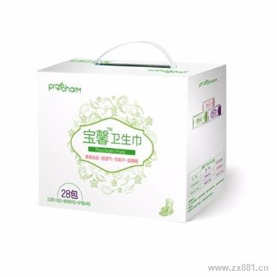 宝健宝馨卫生巾礼盒